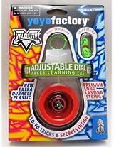 Yoyofactory Velocity Yo-Yo - Red