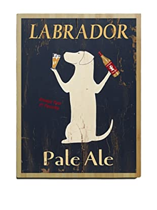 Artehouse Pale Ale Lab Bamboo Wood Sign