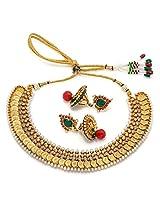 Alankruthi Golden copper Choker For Women