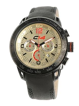 Carbon 14 E23 - Reloj Caballero Movimiento Quarzo Correa Piel Negro