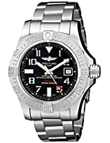 Breitling Men's BTA1733110-F563SS Avenger II Seawolf Analog Display Swiss Automatic Silver Watch
