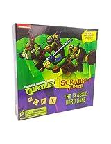 Teenage Mutant Ninja Turtle Scrabble Jr. 2 Sided Board