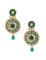 Ethnic Indian Artisan Jewelry Set Pretty Dangler EarringsOREA0308GR