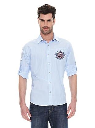 Signore Dei Mari Camisa Benedetto (Azul Brillante)
