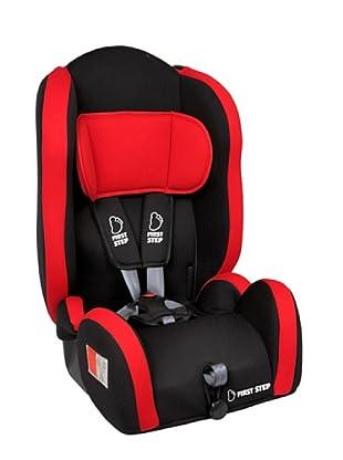 Asalvo Silla de coche Grupo 1,2,3 Star Comfort Rojo