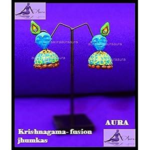 AUrA-EArTH Krishnagama Jhumkas