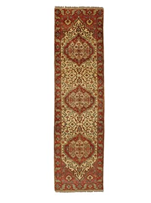 Rug Republic One Of A Kind Indo-Serapi Hand Knotted Rug, Antique Red/Multi, 2' 8