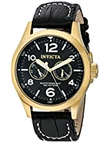 Invicta Analog Black Dial Men's Watch - 10491