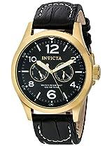 Invicta Analog Black Dial Men's Watch - 10491