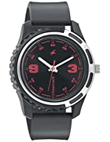 Fastrack Casual Analog Black Dial Men's Watch - 3114PP03