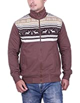 RAVES Men's Cotton Sweatshirt (AW1510COFFEE, Brown, XX-Large)
