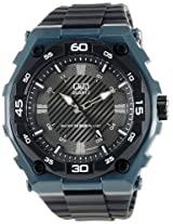 Q&Q Analog Black Dial Men's Watch - GW79J003Y
