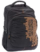American Tourister Code Black and Orange Casual Backpack (R51 (0) 19 006)