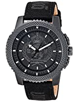 Marc Ecko Analog Black Dial Unisex Watch - E11596G3