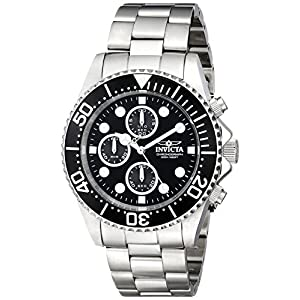 Invicta men's pro diver collection stainless steel watch