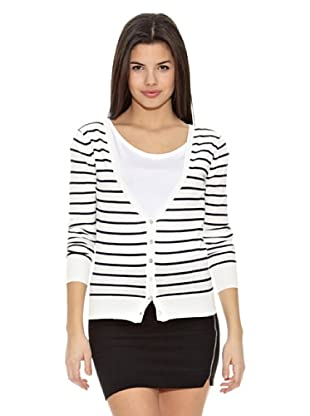 Springfield Cárdigan Bs-Cardigan Stripes (Marino / Blanco)