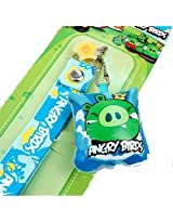 King Pig Angry Birds Screen Cleaner Cell Phone Charm