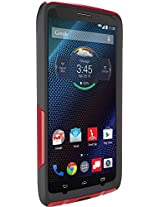 Otterbox Commuter Series Scarlet Flash Case For Droid Turbo - Scarlet Red/Slate Grey