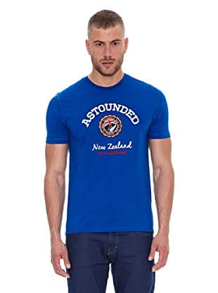 Astounded Camiseta Carolina del Norte (Azul)