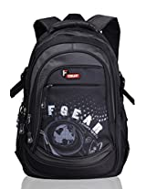 F Gear Dragon Black Grey Laptop Backpack