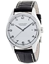 Hamilton Men's H39515753 Valiant Silver Dial Watch