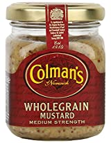 Colman's Wholegrain Mustard Medium Strength, 150ml