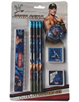 WWE Stationery Set, Multi Color (8 Pieces)
