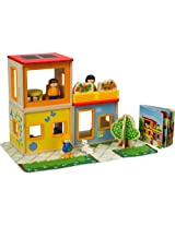 Hape City Family Doll House