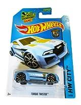 Mattel Hot Wheels 2014 Hw City 13/250 Hw Goal Torque Twister (Blue)