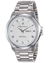 Optima Analog White Dial Men's Watch - FT-ANL-2508