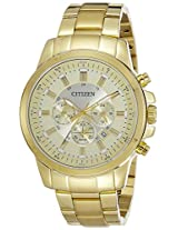 Citizen Analog Gold Dial Men's Watch - AN8082-54P