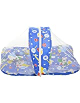 BSB Trendz Baby Bed with Net (Blue, Character)