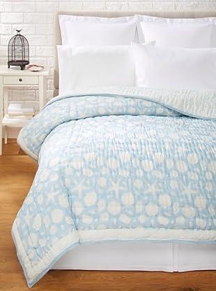 Suchiras Sea Quilt, Light Blue, King