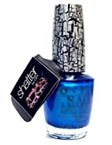 OPI Turquoise Shatter Polish NL E64