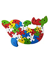 Skillofun Take Apart Lower Alphabet, Multi Color