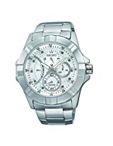 Seiko Chronograph Silver Dial Men's Watch - SRL065P1