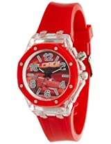 Disney Analog Multi-Colour Dial Boy's Watch - SA8524CAR01