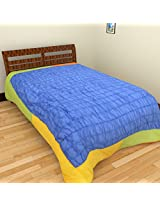 LITTLE ROYALS Single Bed Cover (Multicolor)