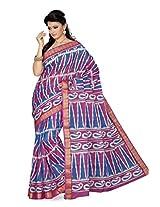 De Marca Multi-Coloured Silk SS813 Saree