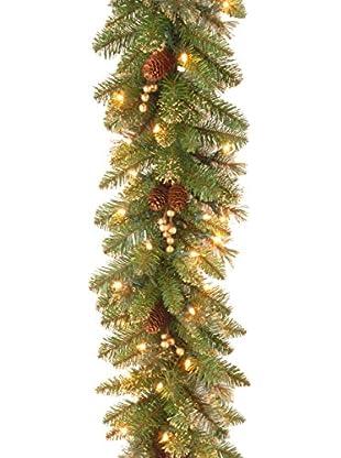 National Tree Company 9' Glittery Pine Garland