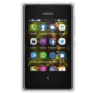 Nokia Asha 503 (Dual SIM, Blue)