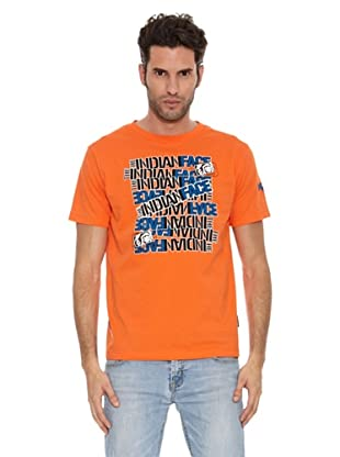 The Indian Face Camiseta Holmes (Naranja)