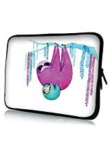 "Cute Sloth Design 7"" Neoprene Tablet E-Book Soft Sleeve Case Bag Pouch Cover for iPad Mini 2 Samsung Galaxy Tab2 P3100/P6200 Google Nexus 7"