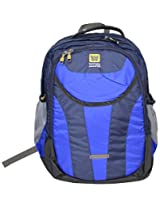 Liviya Synthetic 38 Liters Blue Laptop Backpacks