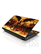 LSS 17 17.3 inch Laptop Notebook Skin Sticker Cover Art Decal Fits 16.5 17 17.3 18.4 19 HP Dell Apple Asus Acer Lenovo Asus Compaq (Free 2 Wrist Pad Included) Cross Grave
