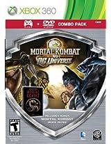 Mortal Kombat Vs DC Game/Mortal Kombat Movie DVD C