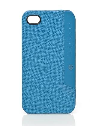 Piquadro Custodia iPhone 4/4S (Azzurro)