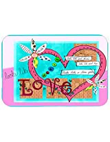 Caroline's Treasures PJC1114CMT Looks Like I Love You Valentine's Day Kitchen or Bath Mat, 20 by 30 , Multicolor
