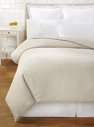 Mélange Home Linen Hemstitch Duvet Cover Set (Natural)