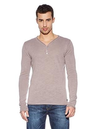 Cross Jeans Camiseta Casual (Ceniza)